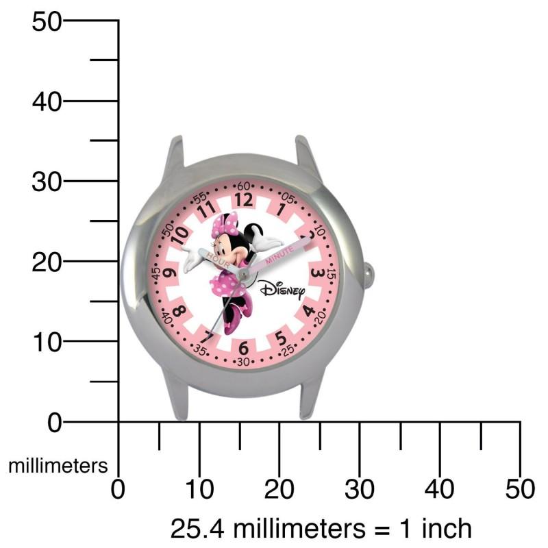 Các mốc ghi giờ chia làm 2 vòng : giờ và phút giúp bé học cách xem giờ dễ dàng hơn