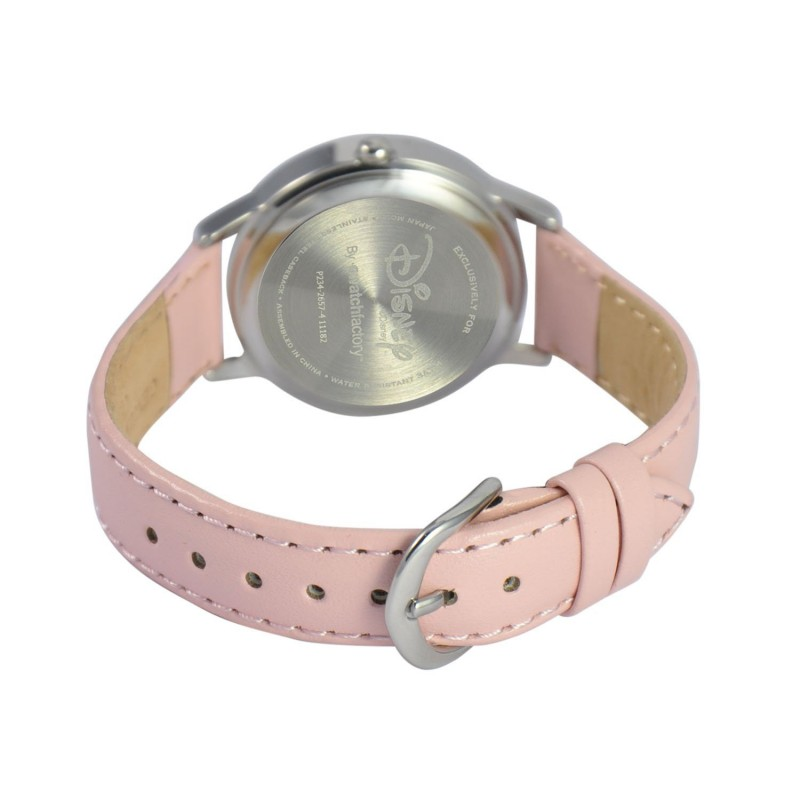 Chất liệu dây da cao cấp mềm mại, thiết kế khóa gài tùy chỉnh theo cổ tay của bé