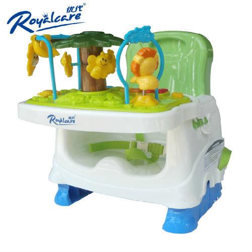 Ghế ăn dặm RoyalCare có khay đồ chơi 822201B