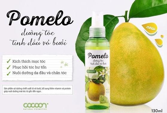 Tinh dầu bưởi Pomelo nguyên chất giúp ngăn rụng tóc và kích thích mọc tóc an toàn, hiệu quả được các chuyên gia khuyên dùng