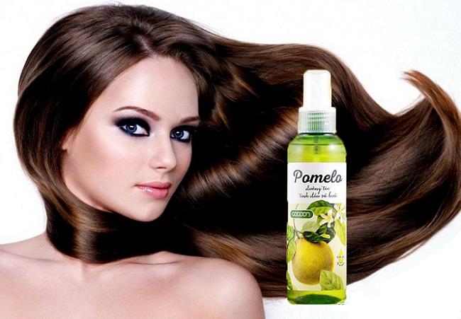 Tinh dầu bưởi Pomelo mang lại những công dụng vô cùng hữu hiệu cho mái tóc của bạn