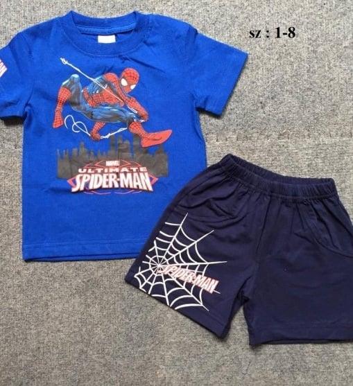 Bộ đồ bé trai Spiderman màu xanh dương