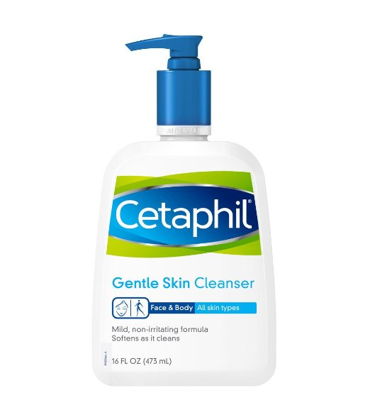 Sữa rửa mặt Cetaphil 473ml phù hợp cho mọi loại da