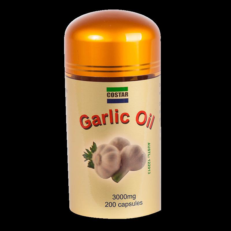 Tinh dầu tỏi Costar Garlic Oil 3000mg 200 viên