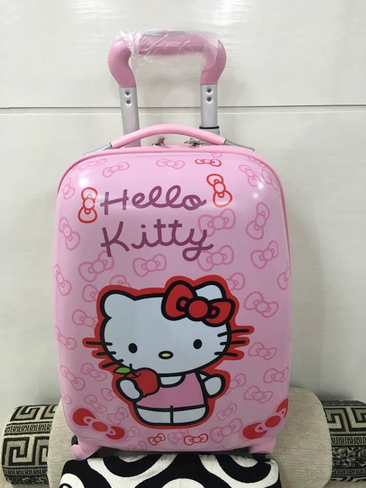 Vali kéo trẻ em Hello Kitty hình chữ nhật 3