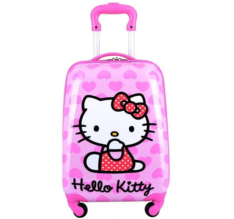 Vali kéo trẻ em Hello Kitty hình chữ nhật 5