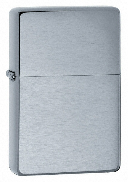 Bật lửa Zippo Vintage Brushed Chrome Lighter without Slashes 230.25 1