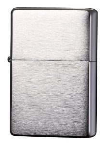 Bật lửa Zippo Vintage Brushed Chrome Lighter without Slashes 230.25 2