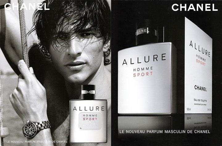 Nước hoa Chanel Allure homme sport phong cách thể thao mạnh mẽ