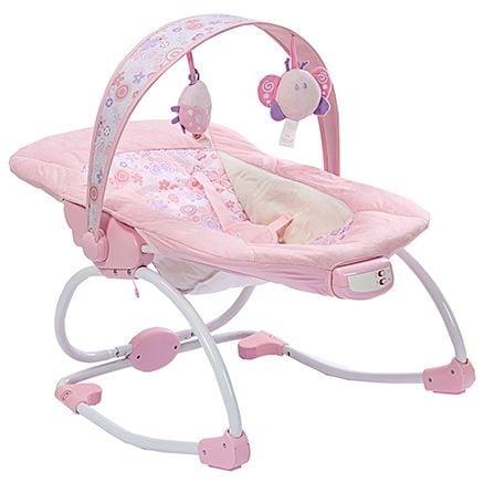 Ghế gắn nhiều đồ chơi ngộ nghĩnh, kích thích thị giác và thính giác của trẻ