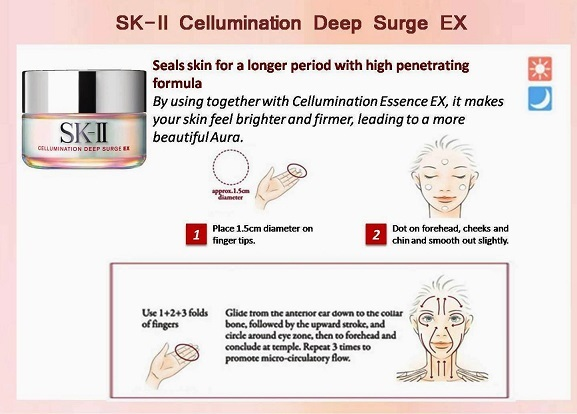 Kem dưỡng trắng da SK-II Cellumination Deep Surge EX 4