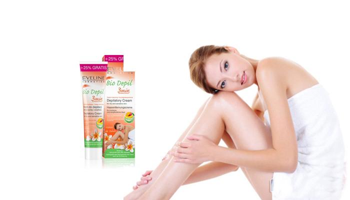 Kem tẩy lông Bio Depil với chiết xuất từ thiên nhiên nhẹ nhàng tẩy sạch lông vùng chân, tay, nách và bikini, đồng thời tái tạo và dưỡng ẩm cho da suốt 24 tiếng.