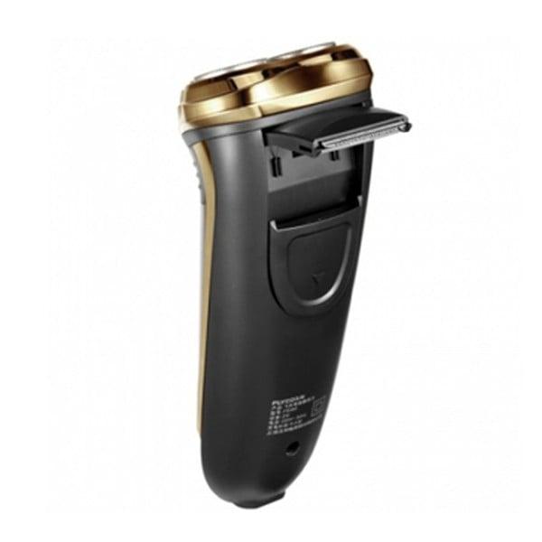 Máy cạo râu Flyco FS360 Thiết kế với tông đơ dạng đầu bật rất tiện lợi cho việc tỉa tóc mai và ria mép