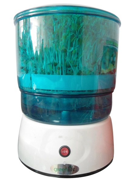 Máy trồng rau mầm Green Life GL611 có bộ máy hoạt động được lập trình sẵn, hoàn toàn tự động