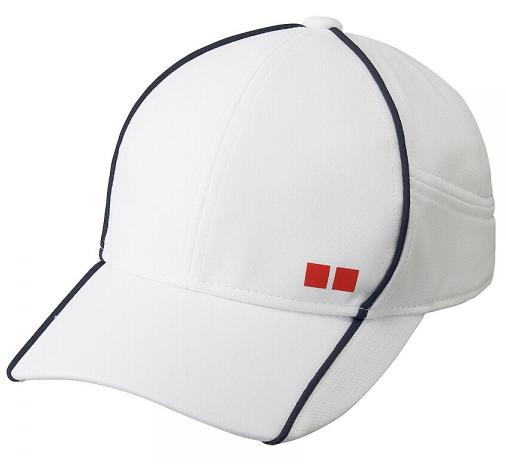 Mũ tennis Uniqlo được sản xuất từ 100% Polyester đan dạng lưới