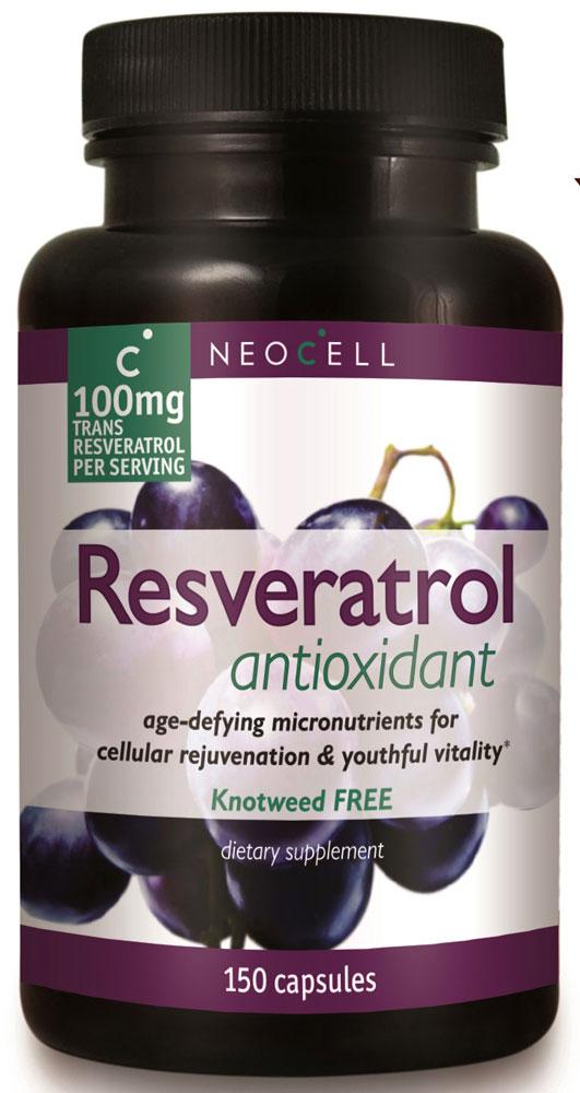 Neocell's Resveratrol Antioxidant hỗ trợ tăng cường sức khỏe tim mạch