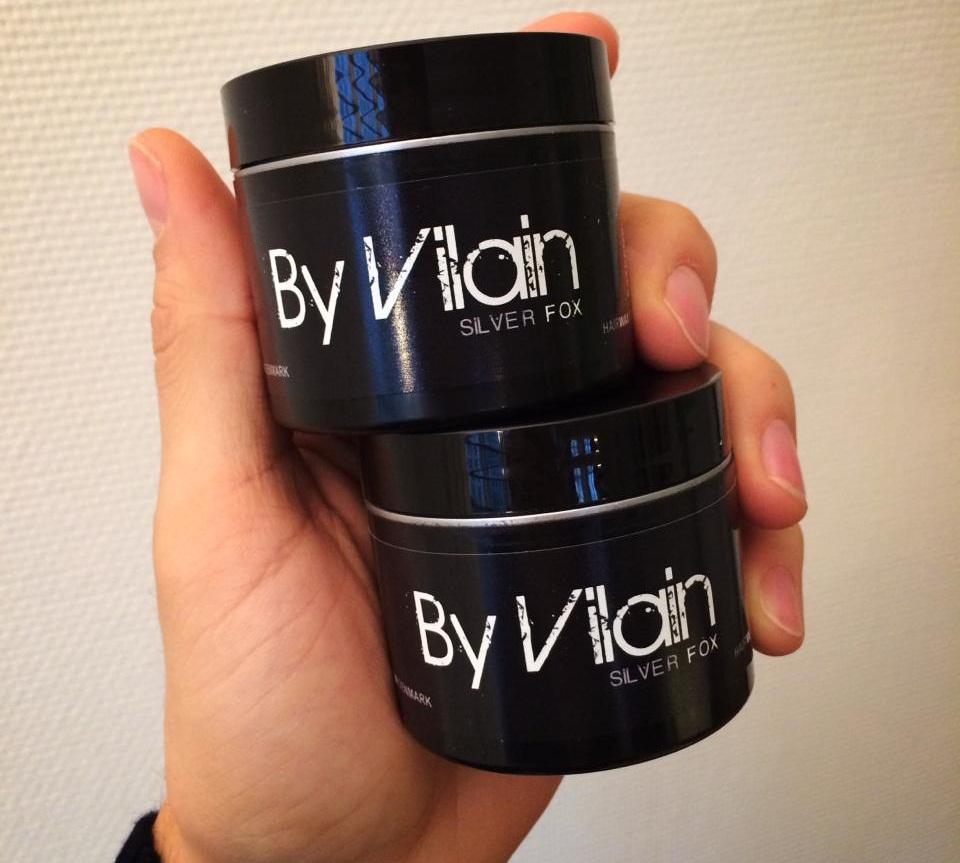 Sáp vuốt tóc By Vilain Silver Fox tạo kiểu phong cách 3