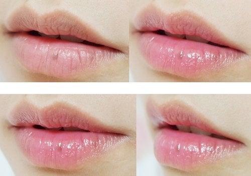 Son dưỡng DHC không chỉ dưỡng ẩm mà còn giúp môi trở nên hồng hào, căng mọng