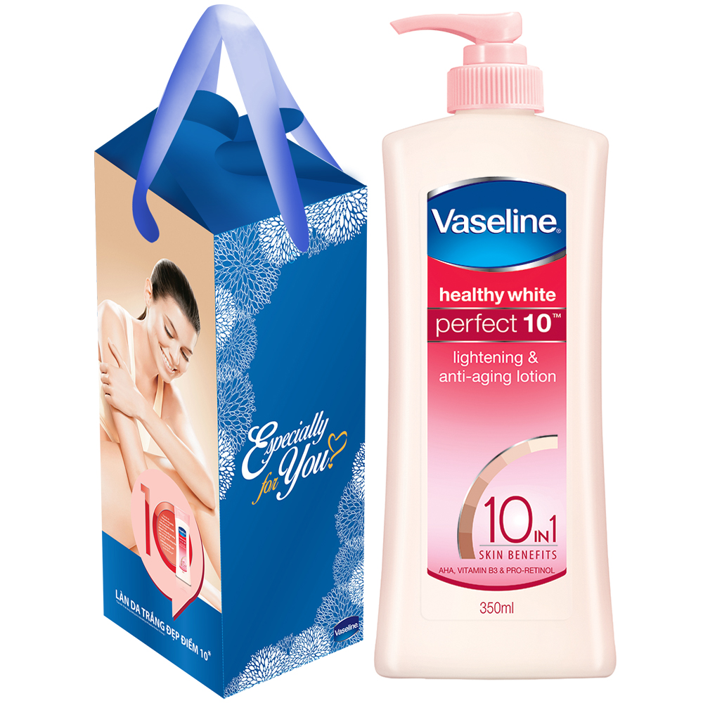 Sữa dưỡng thể Vaseline Perfect 10 trong 1 (350ml)