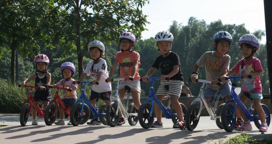 Xe đạp trẻ em Cruzee phù hợp với các bé từ 18 tháng - 6 tuổi