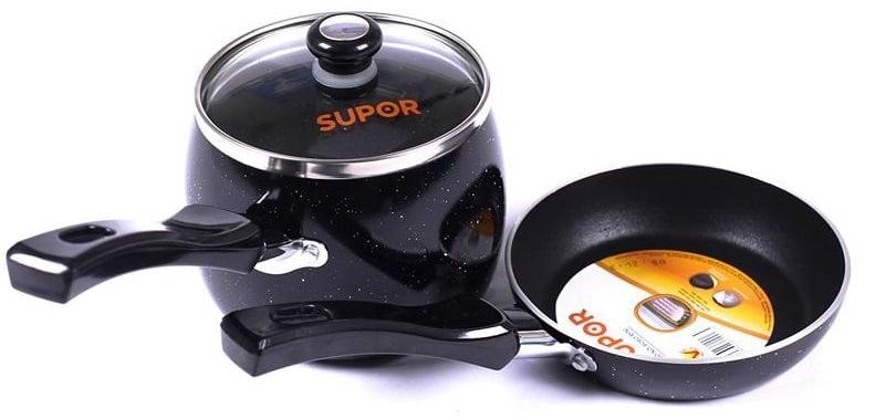 Nồi Supor T0305 màu đen sang trọng, tinh tế