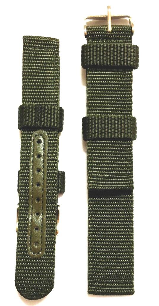 Thiết kế dây đeo đồng hồ Nato xanh quân đội có chức năng và phù hợp với các tiêu chuẩn đặt ra mà không mất đi tính thời trang. Sắc xanh quân đội nổi bật cá tính.