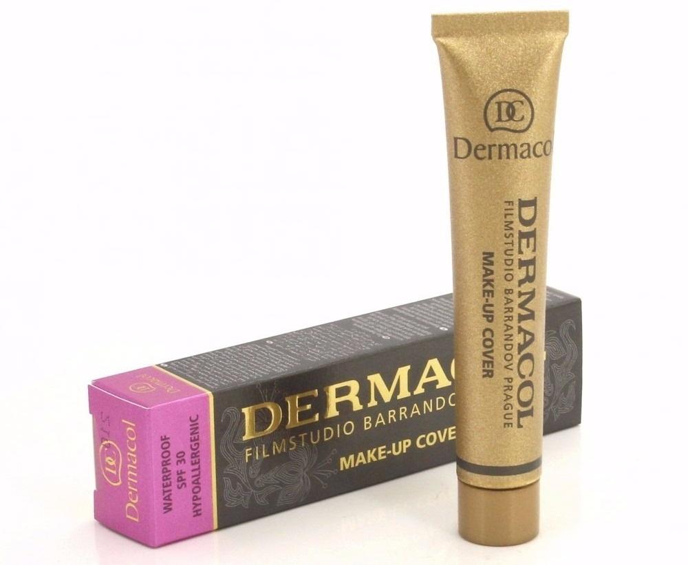 Kem nền Dermacol là một trong những kem nền có khả năng che khuyết điểm cực tốt