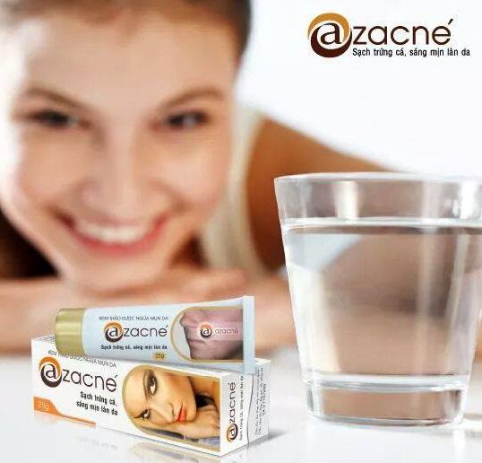 Kem trị mụn Azacne ngừa mụn, giảm thâm nám hiệu quả