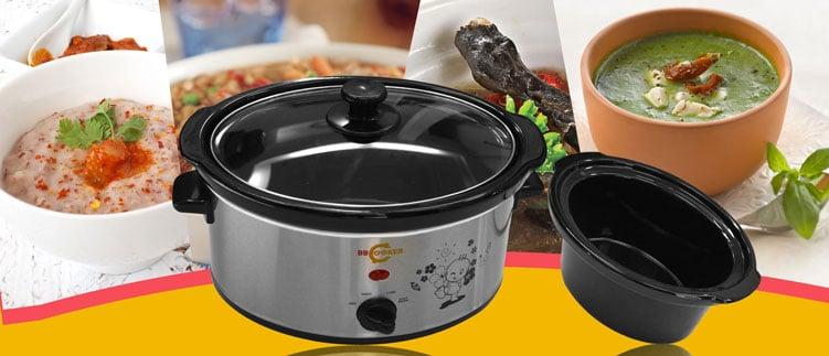 Nồi nấu cháo Hàn Quốc cho bé BBCooker 3,5l có tính năng giữ nhiệt tốt và tuyệt đối an toàn cho sức khỏe