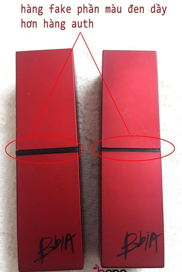 Son BbiA vỏ đỏ Last Lipstick Red Series 6