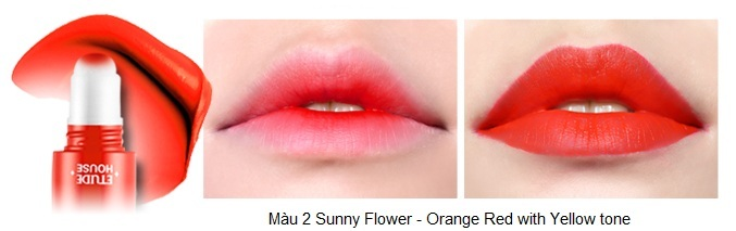 Rosy Tint Lips - Son kem Etude House lên màu cực chuẩn 3