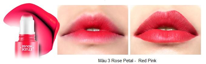 Rosy Tint Lips - Son kem Etude House lên màu cực chuẩn 4