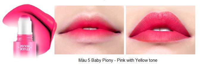 Rosy Tint Lips - Son kem Etude House lên màu cực chuẩn 6