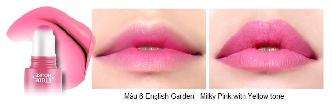 Rosy Tint Lips - Son kem Etude House lên màu cực chuẩn số 7