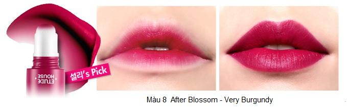 Rosy Tint Lips - Son kem Etude House lên màu cực chuẩn số 9