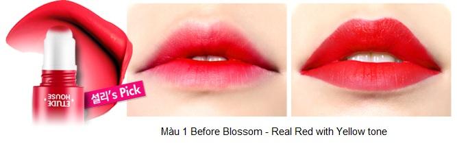 Rosy Tint Lips - Son kem Etude House lên màu cực chuẩn 2