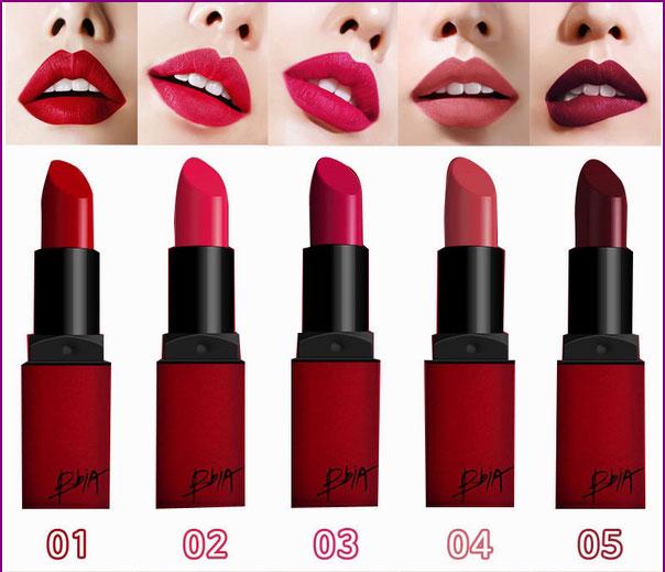 Các mã màu son Bbia vỏ đỏ Last Lipstick Red Series