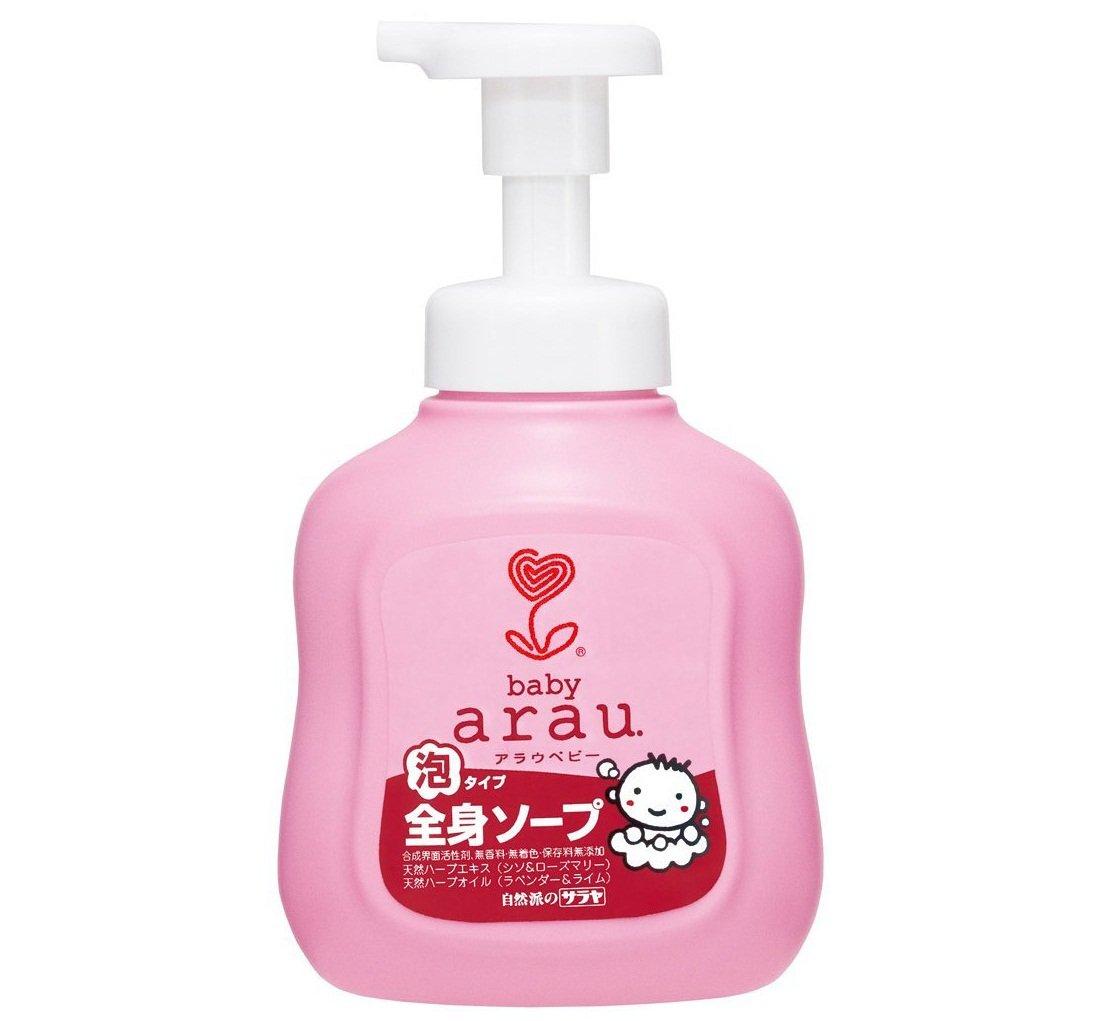 Sữa tắm bọt Arau Baby tạo cảm giác mềm mại tự nhiên