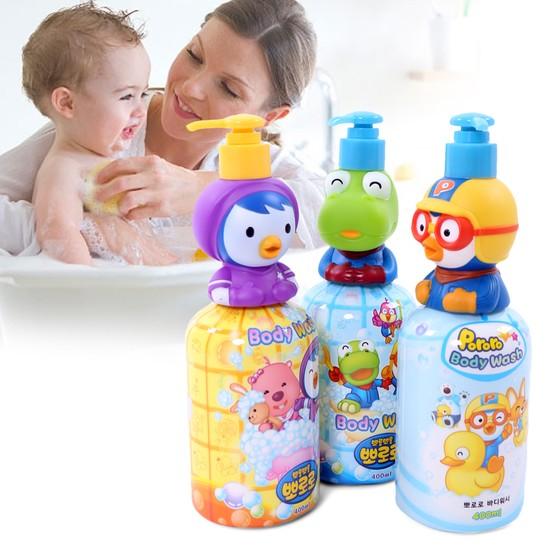 Sữa tắm cho bé Pororo thiết kế nhân vật hoạt hình ngộ nghĩnh 2