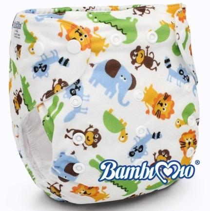 Tã vải Bambi Mio jungle SP012 ban ngày(2-4h) cho bé 3-16kg mang đến cho bé cảm giác khô, thoáng mát và chống hăm 100%
