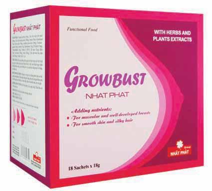 Growbust Nhất Phát - hỗ trợ tăng kích thước vòng 1