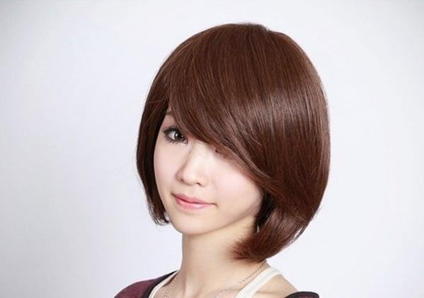 Thiết kế tóc giả ngắn kiểu dáng cực kỳ trẻ trung