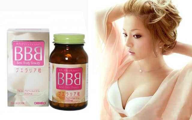 Viên Uống Nở Ngực Bbb Orihiro Nhật Bản