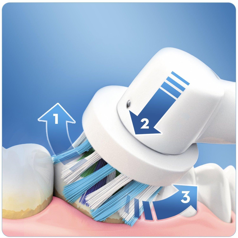 Bàn Chải Đánh Răng Điện Oral B Pro 600 Cross Action (Đức)