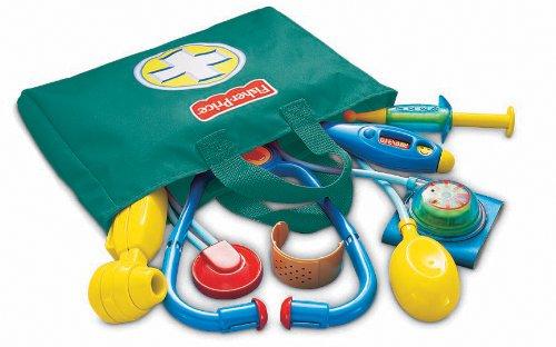 Bộ đồ chơi bác sĩ Fisher Price được làm từ nhựa cao cấp
