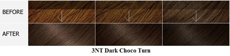 Màu 3NT Dark Choco Turn