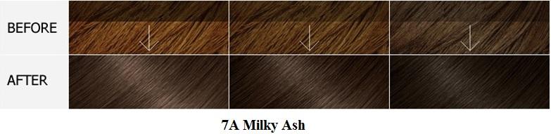 Màu 7A Milky Ash