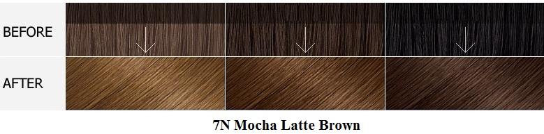 Màu 7N Mocha Latte Brown