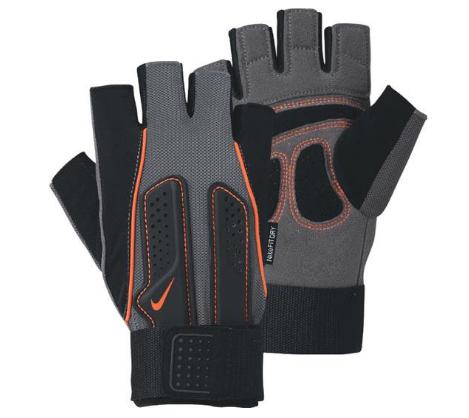 Găng tay tập thể hình Nike được thiết kế kiểu dáng thể thao, mạnh mẽ và có độ ma sát cao