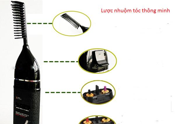 Lược nhuộm tóc Teangya thao tác dễ dàng, không cần khăn che, không gây bẩn ra quẩn áo